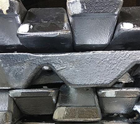 LM0 aluminium ingots