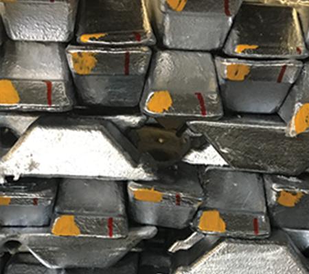 GALSI 9cu3 aluminium ingots
