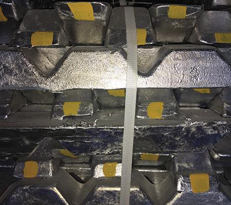 LM06 aluminium ingots